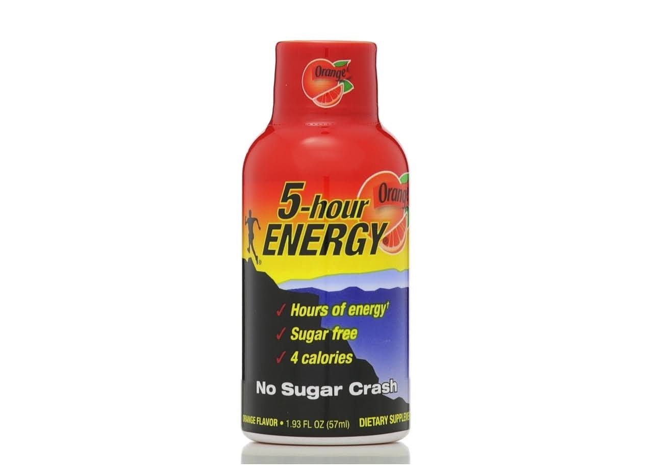 5 Hour Energy Orange Flavor Energy Drink - 1.93oz
