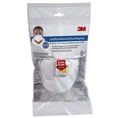 3M Lead Paint Removal Valved Respirator