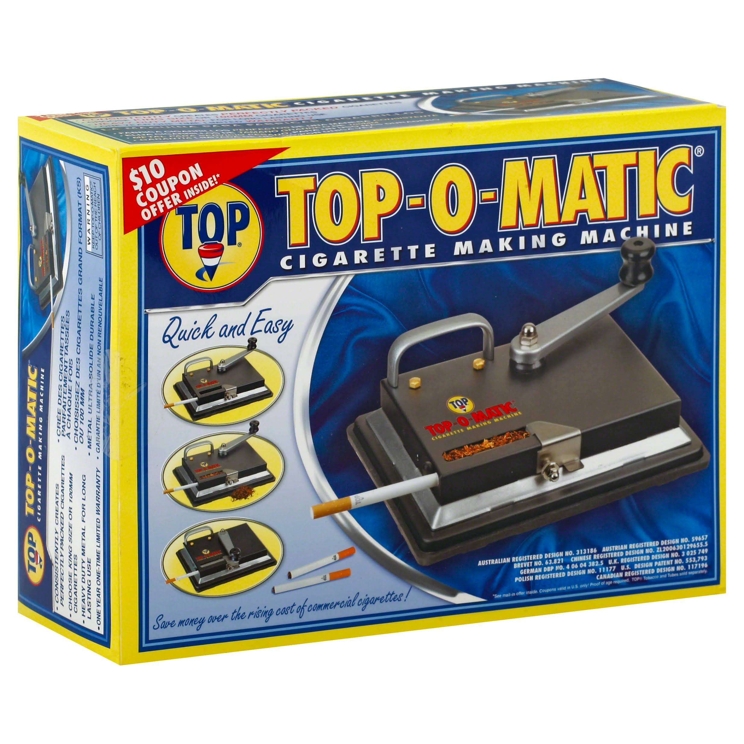 Top Cigarette Making Machine, Top-O-Matic