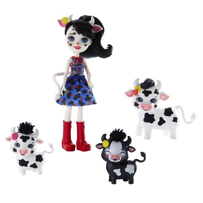 Enchantimals Cambrie Cow Puppe | GJX44 Toys/Spielzeug