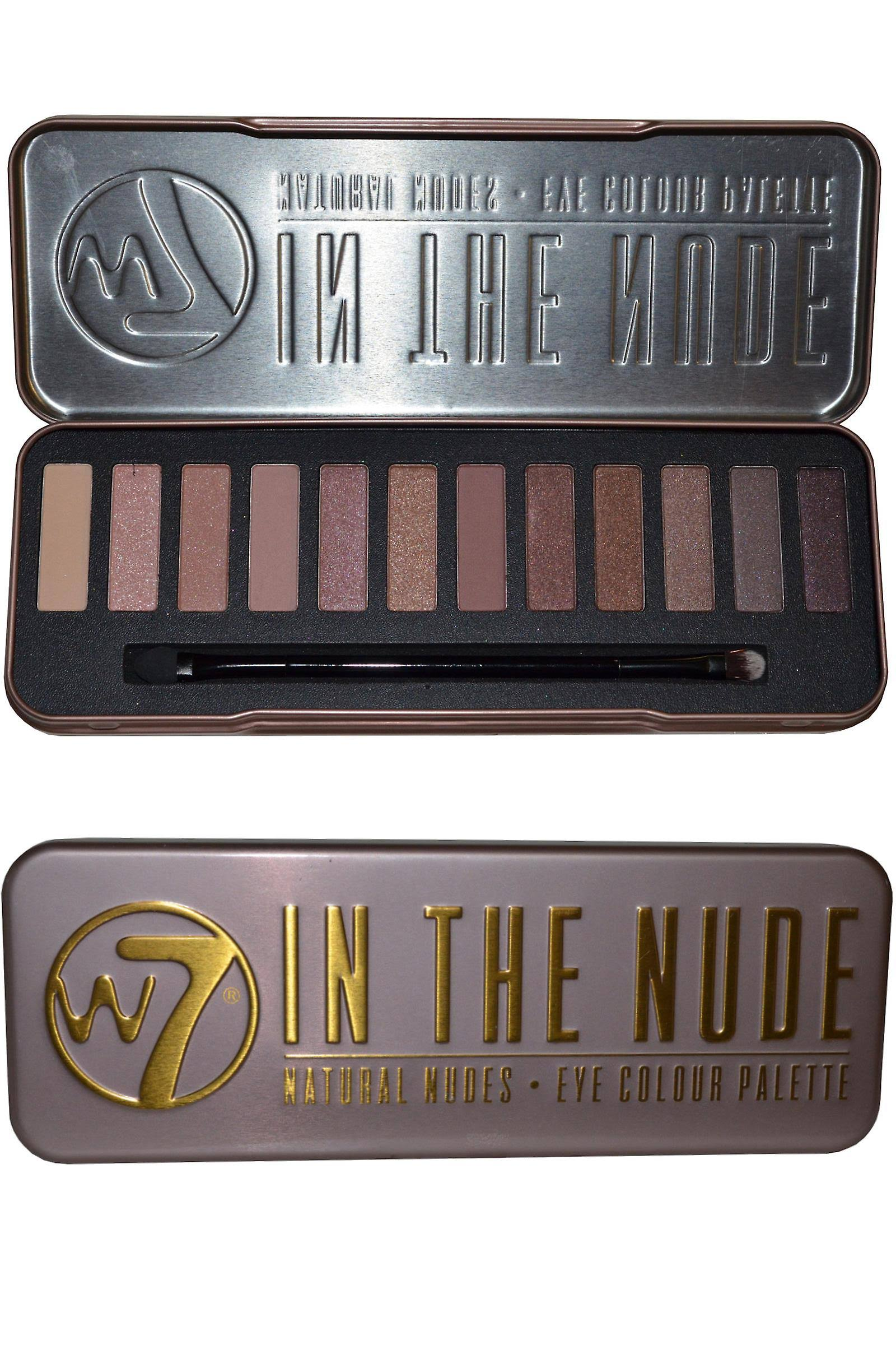 W7 In The Nude Eye Shadow Palette - Natural Nudes, 15.6g