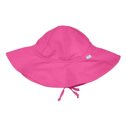 I Play - Brim Sun Protection Hat - Hot Pink-0/6mo