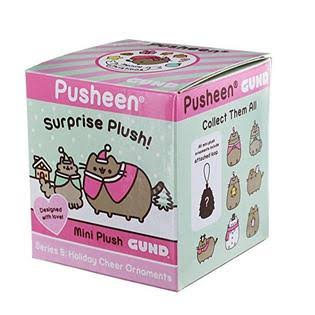 Gund Pusheen Surprise Series - Holiday Cheer Ornaments