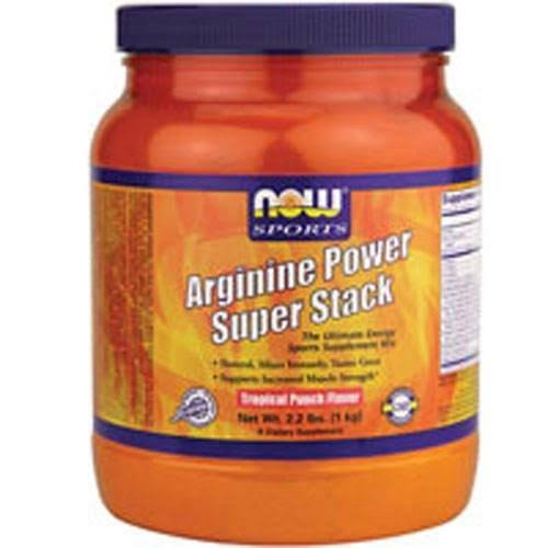 Now Foods Arginine Power Super Stack - Tropical Punch