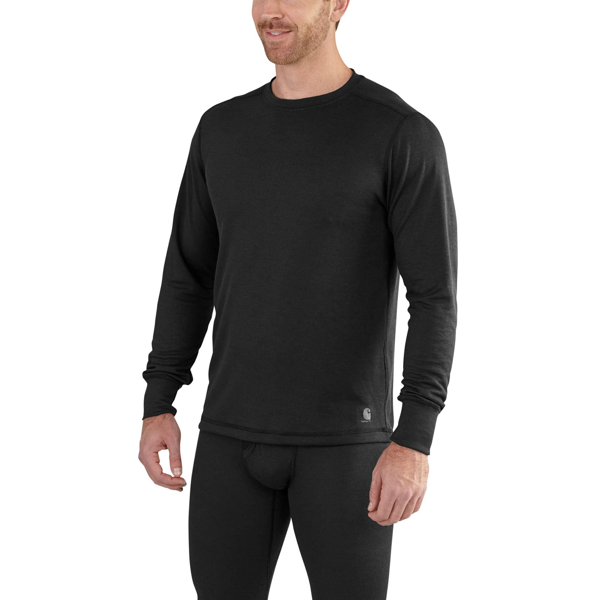 Carhartt Men's Base Force Extremes Cold Weather Crewneck (XL Black)