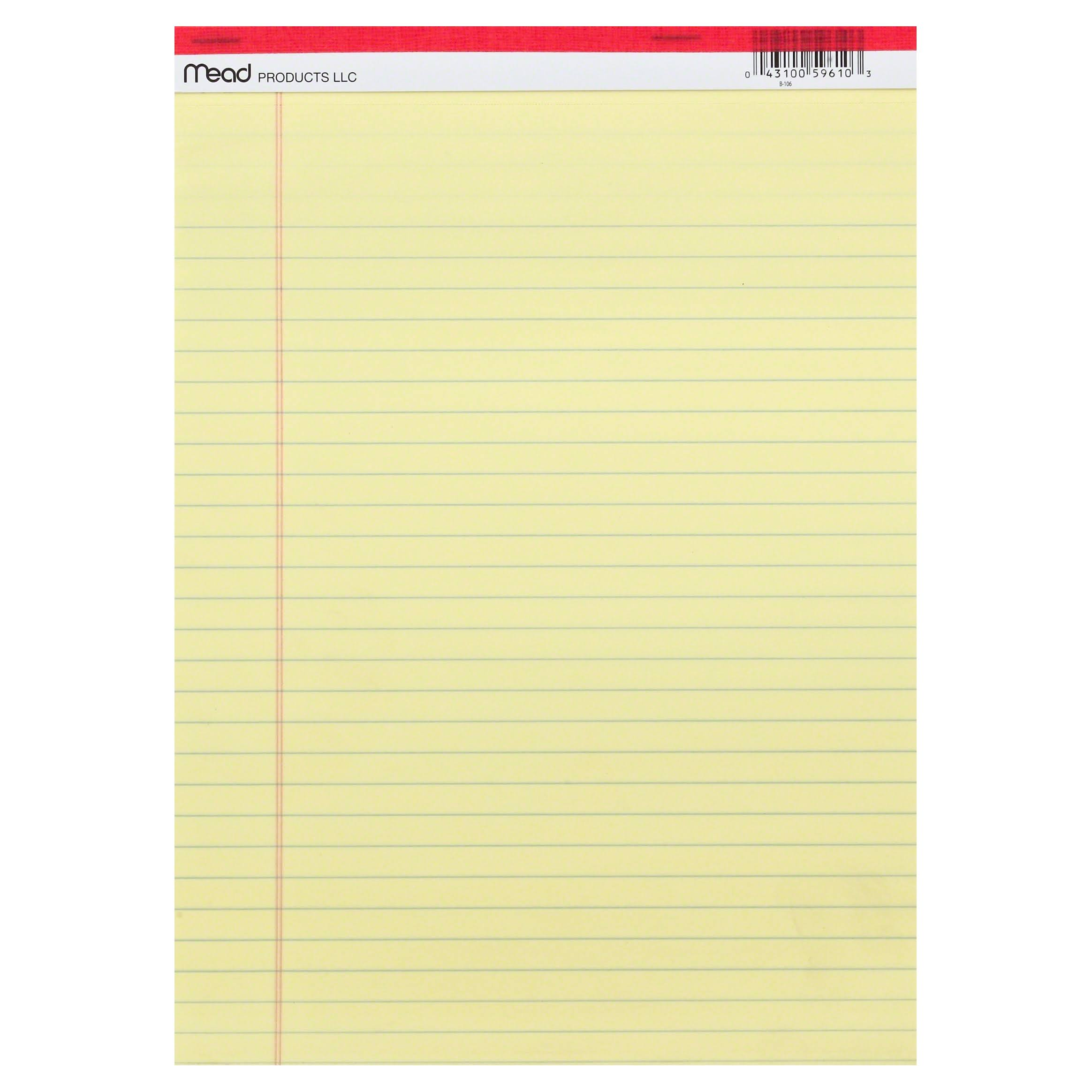 Mead Products Legal Pad