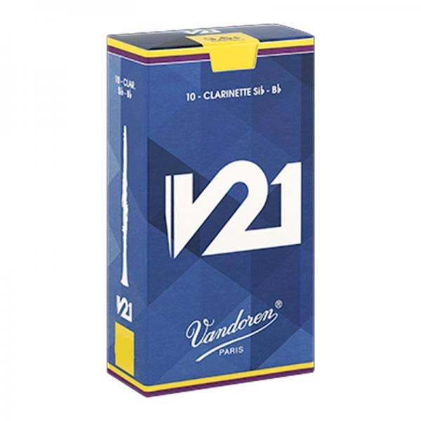 Vandoren Cr804 Clarinet Reeds - Strength #4, 10pcs