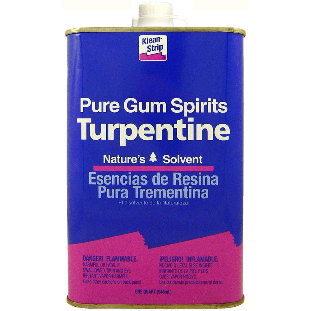 Klean-Strip Pure Gum Spirits Turpentine - 946ml