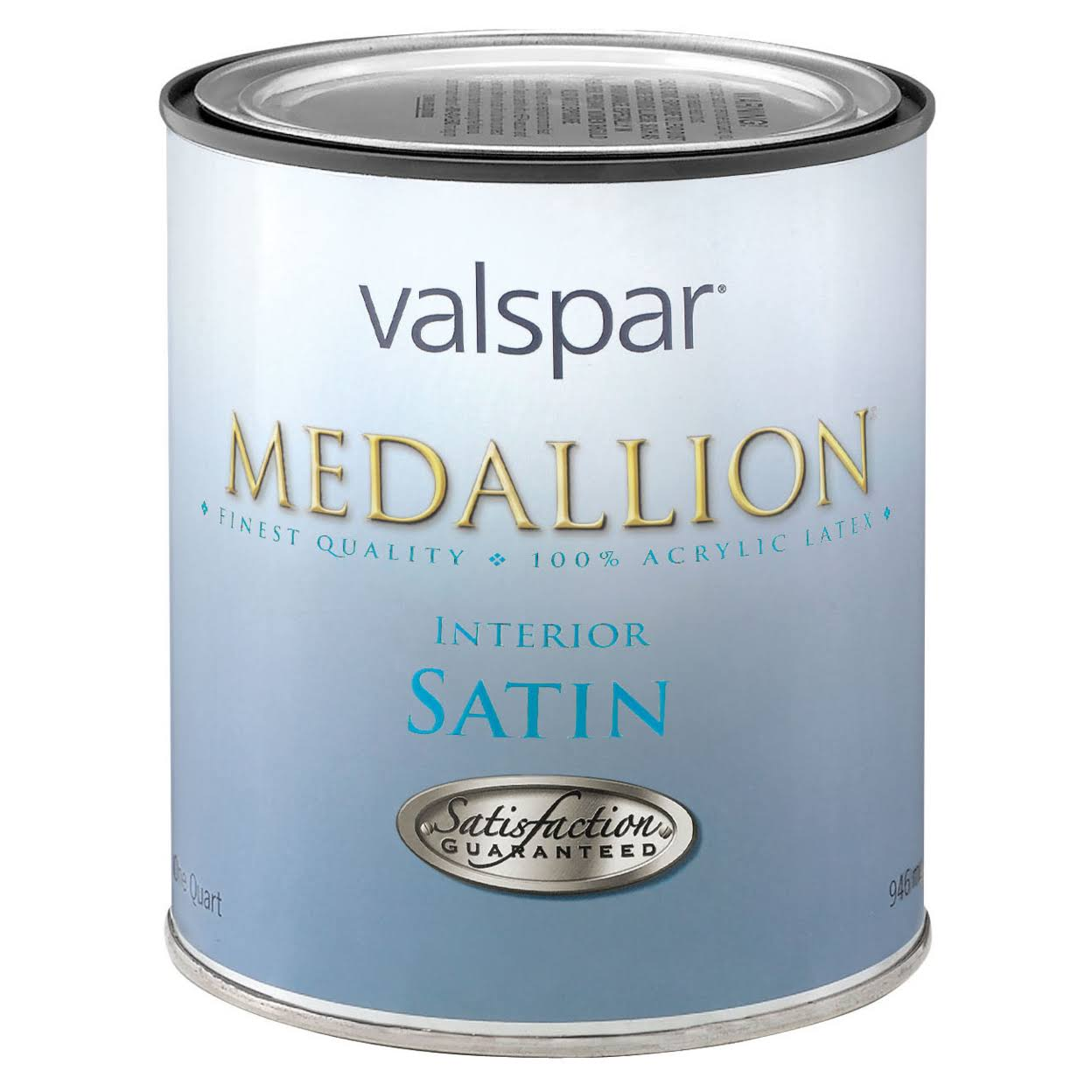 Valspar Medallion 100% Acrylic VOC Interior Paint - Satin