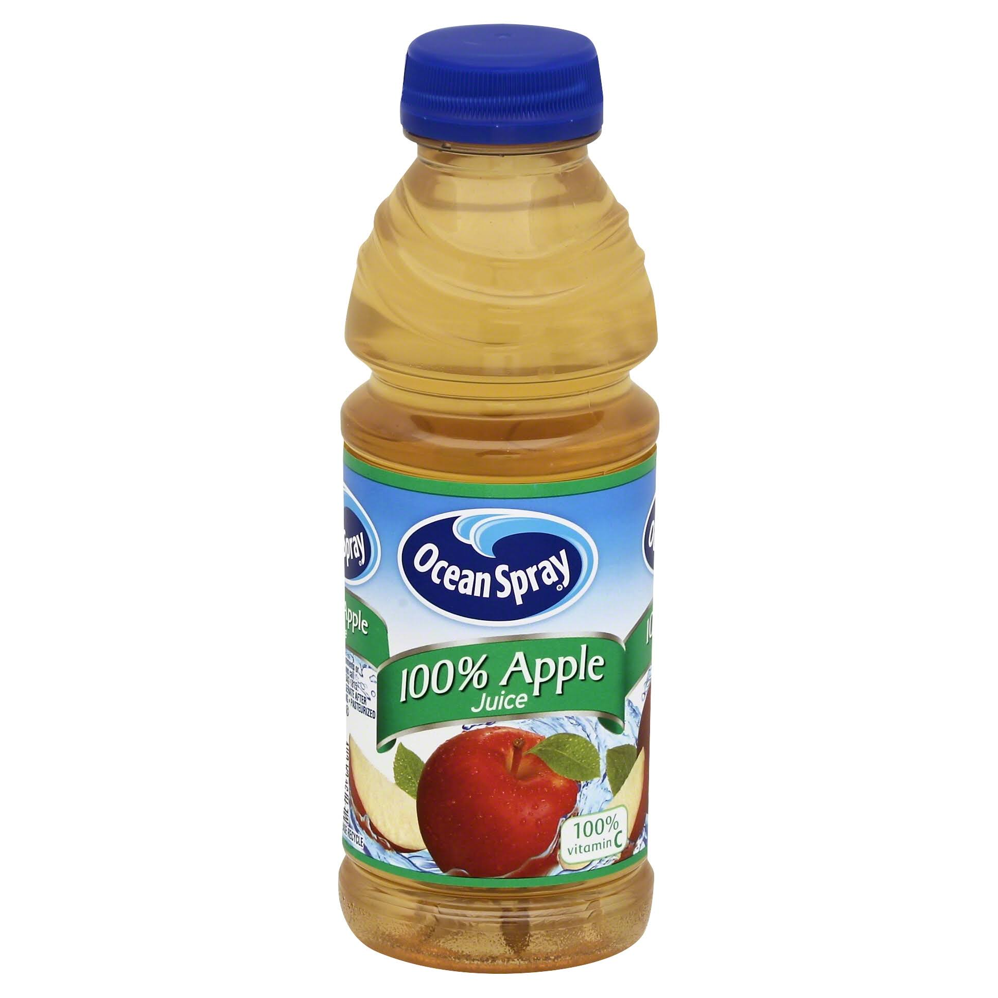 Ocean Spray 100% Apple Juice - 15.2 fl oz