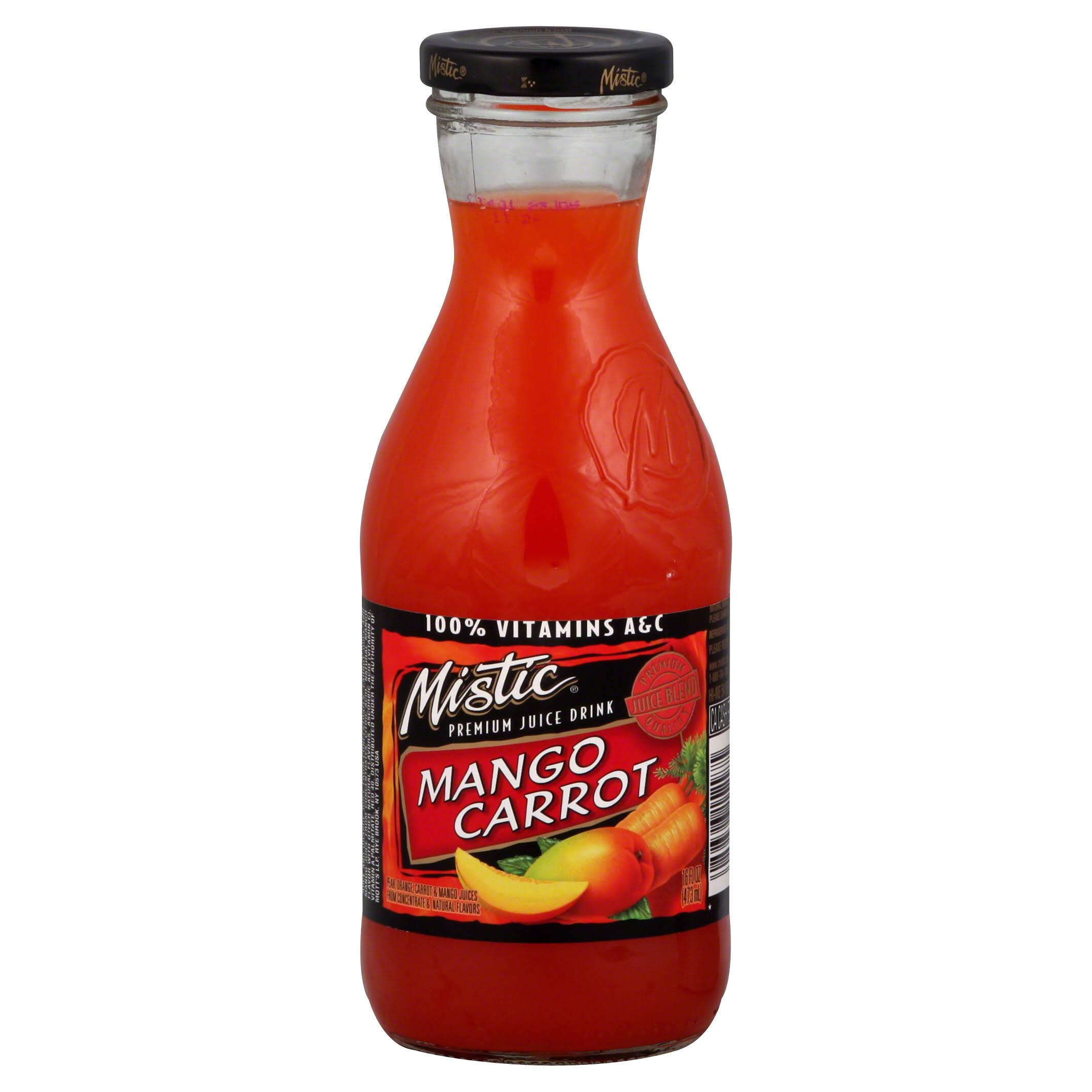 Mistic Mango Carrot Juice - 16 Oz