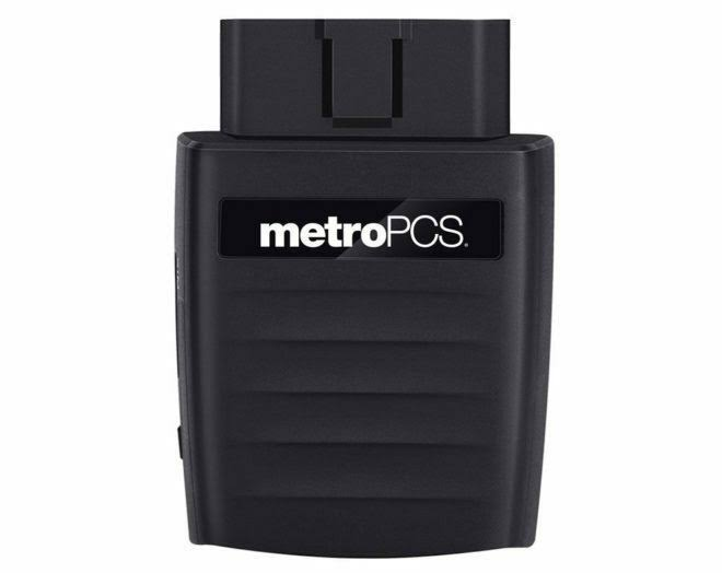 Metro Pcs Smart Ride Device Car WiFi Hotspot GPS Tracking Roadside