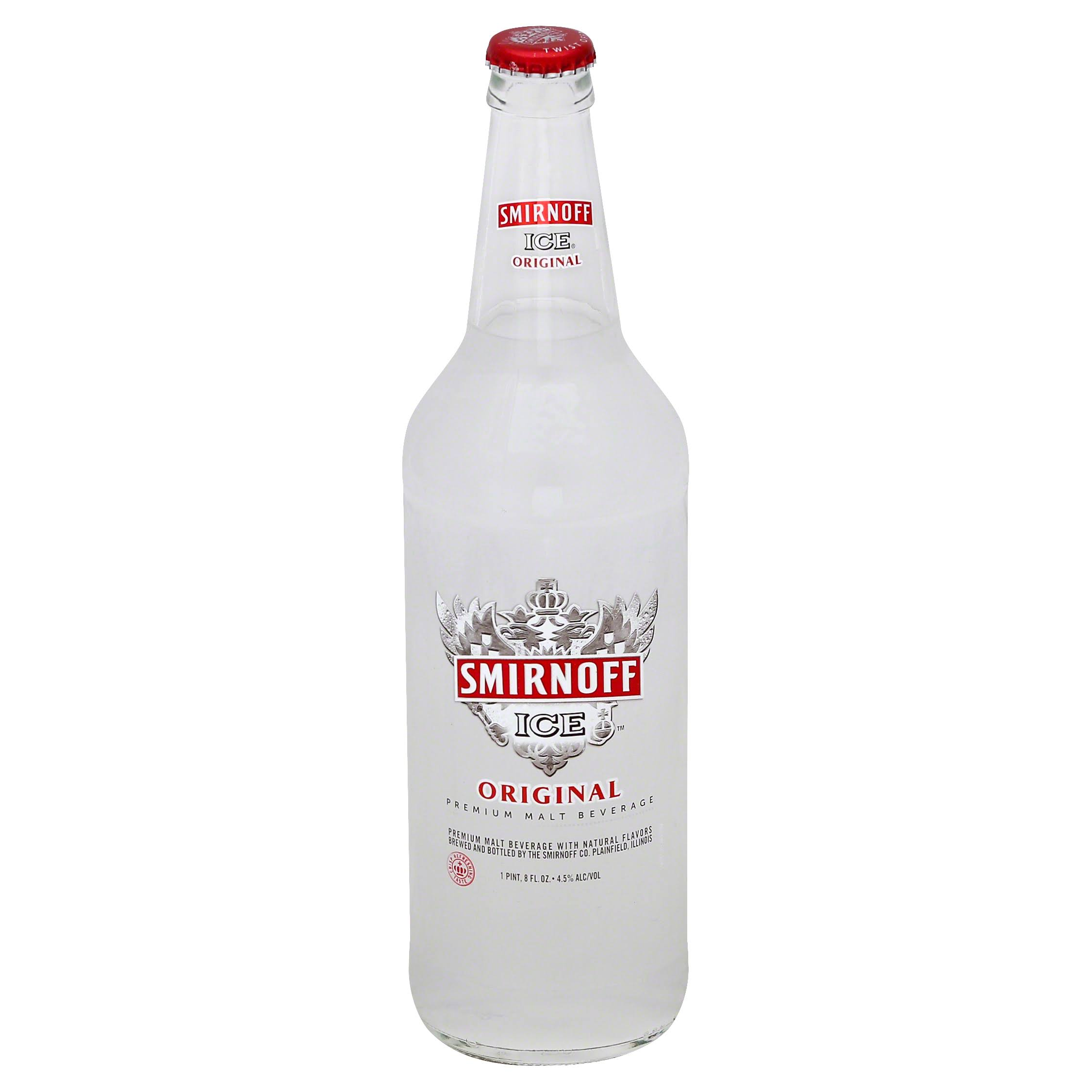 Smirnoff Premium Malt Beverage - Ice Triple Filtered