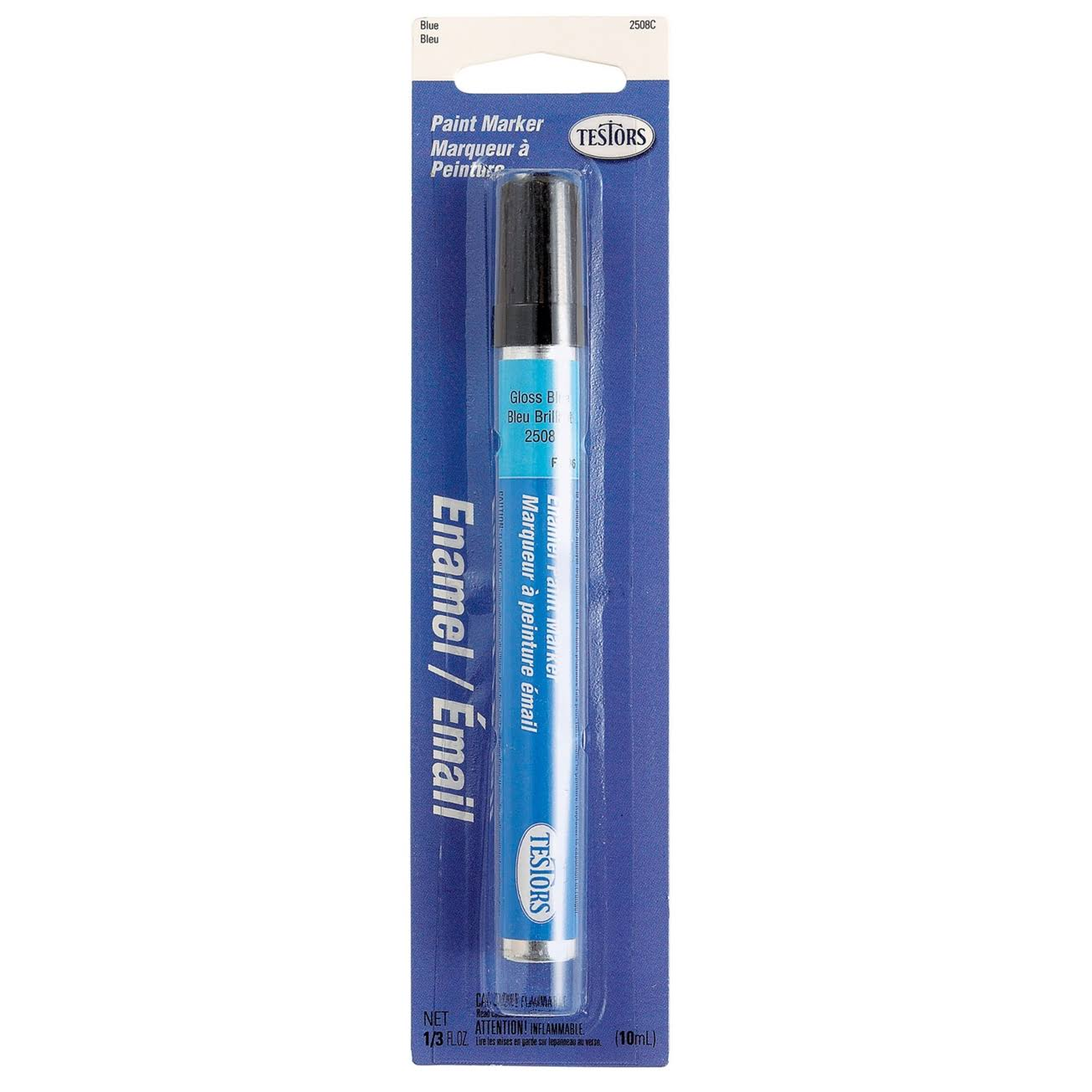 Testors Enamel Paint Marker - Light Blue Gloss