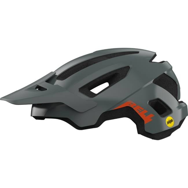 Bell Nomad Mips Bike Helmet - Matte Grey/Orange