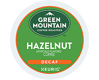 Green Mountain Coffee Hazelnut Decaf K Cup - 24ct