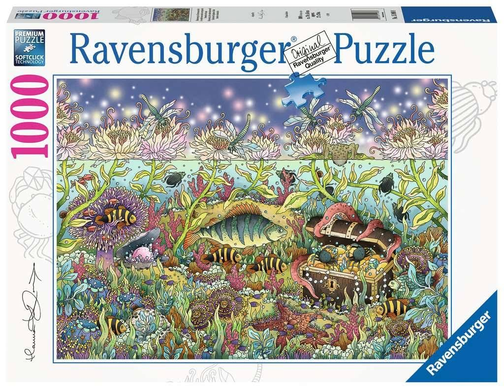 Ravensburger 15988 Underwater Kingdom at Dusk 1000pc Jigsaw Puzzle