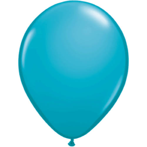 Qualatex 11'' Latex Balloons - Tropical Teal, 100 Pack