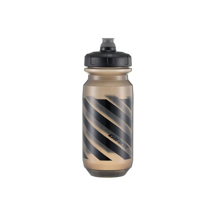 Giant Doublespring Transparent Water Bottle - Black
