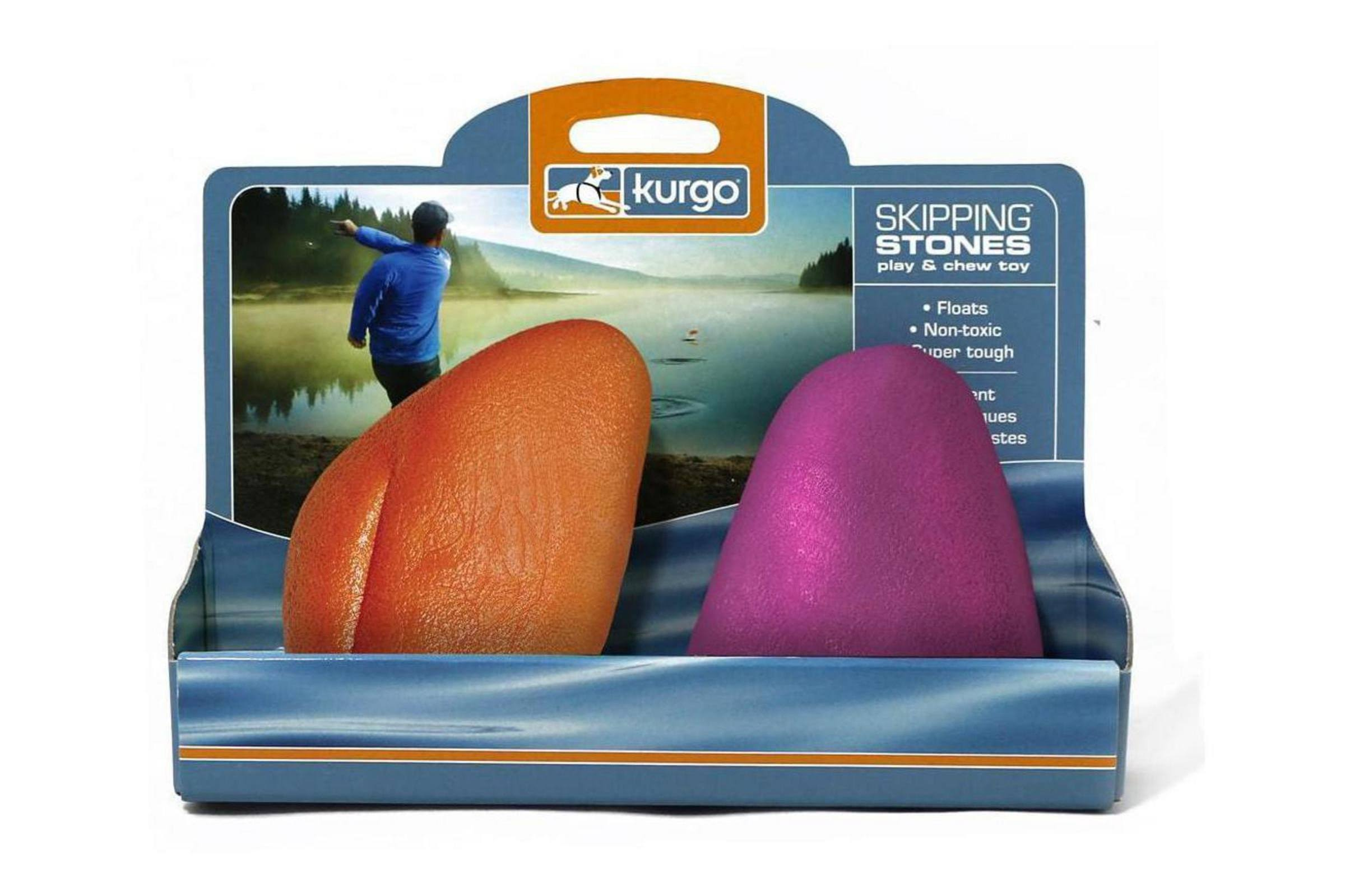 Kurgo Dog Skipping Stones, Assorted Colors