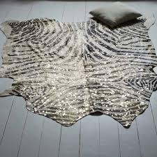 Animal Print Bathroom Sets Uk by Zebra Stripe Metallic Cow Skin Cowhide U0026 Other Hides Graham