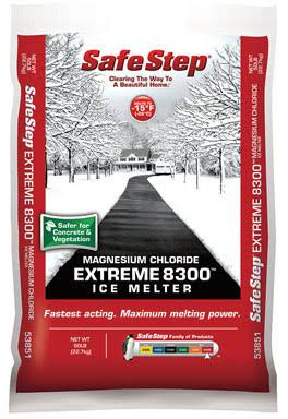 North American Salt 53851 Extreme 8300 Magnesium Chloride Ice Melter - 50lbs