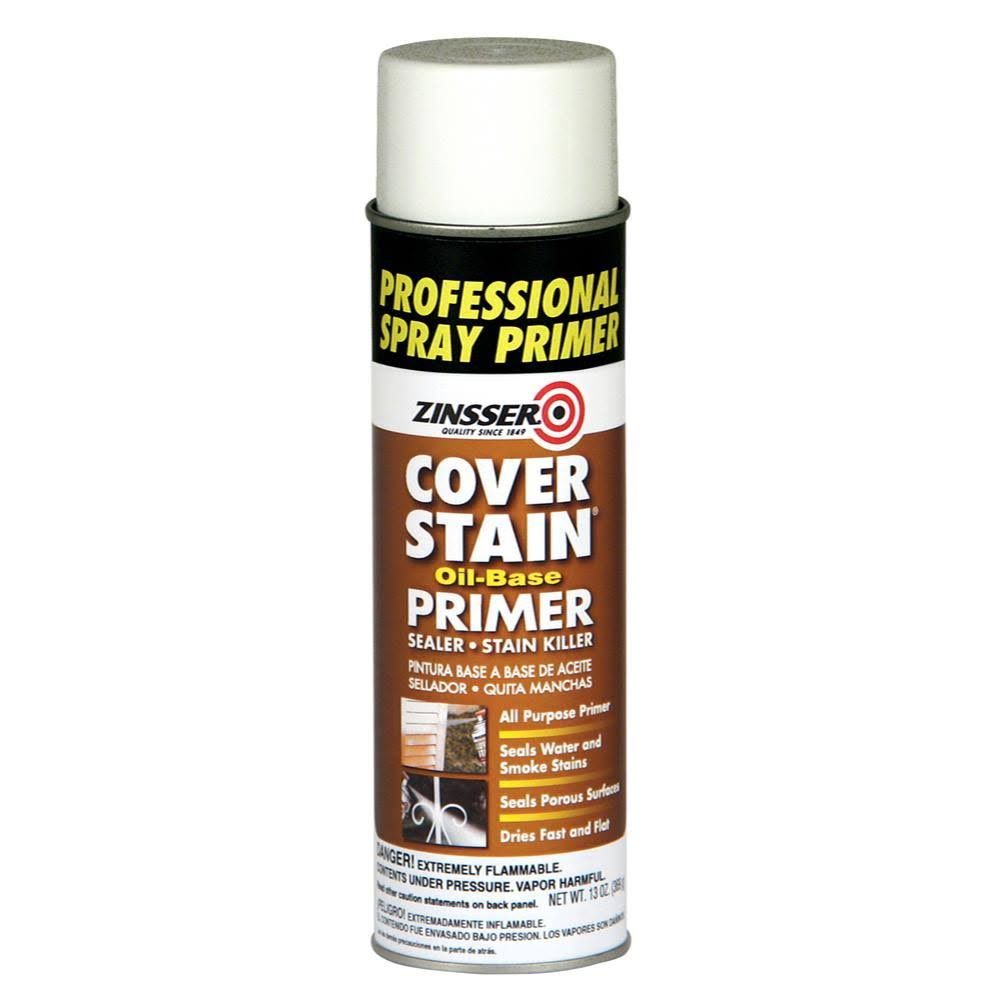 Rust-Oleum Primer Sealer Cover Stain Spray Can