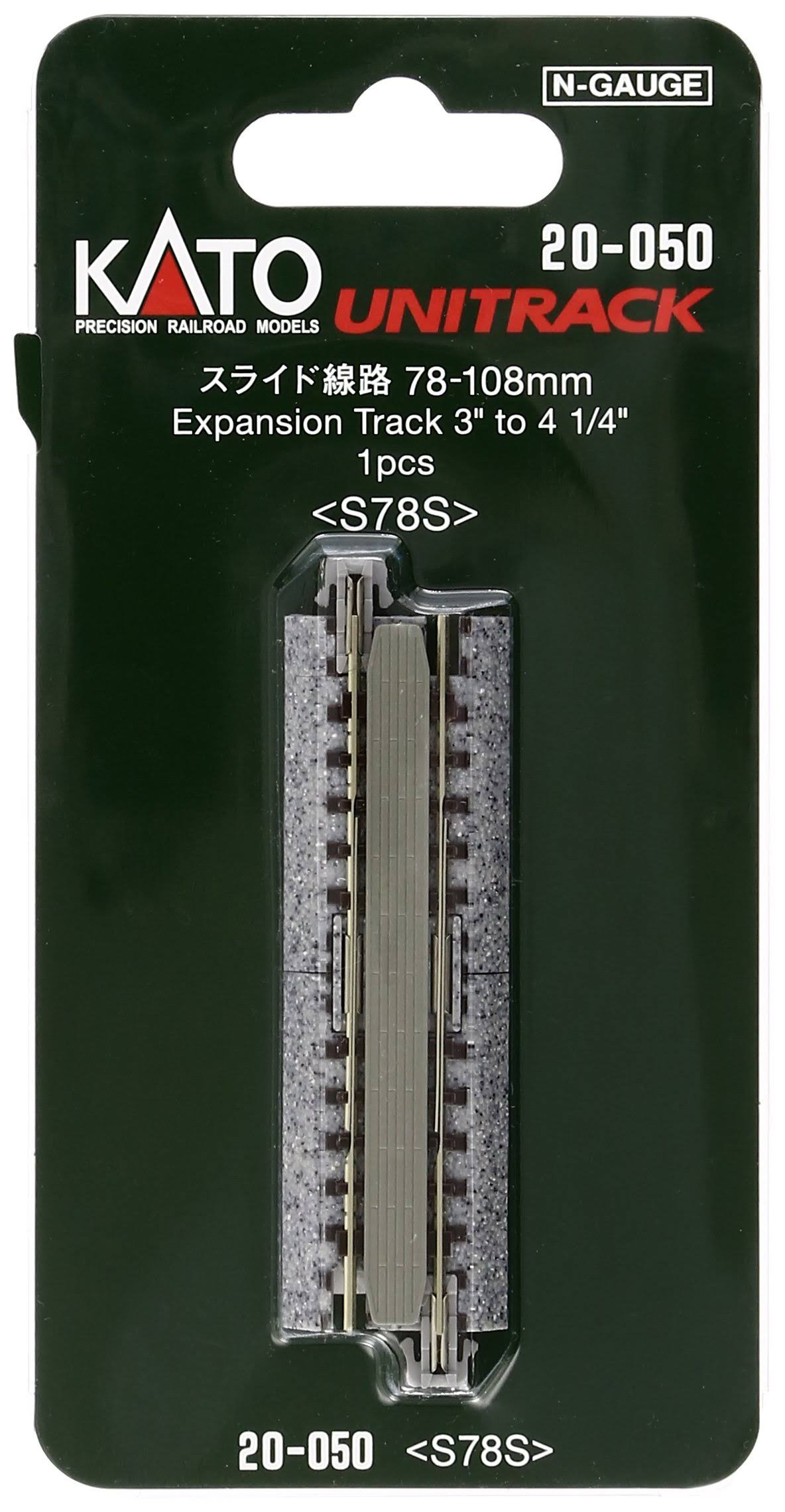 Kato 20-050 Expansion Track - S78 N scale, 78mm-108mm