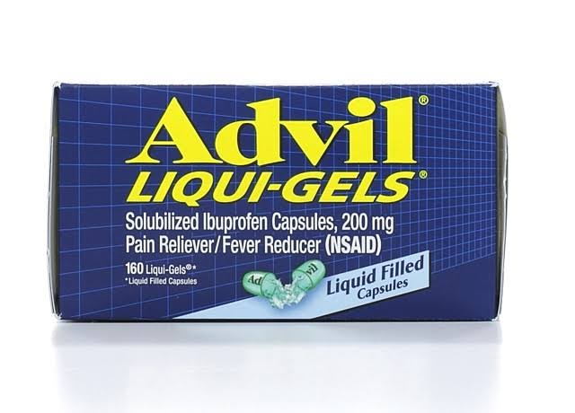 Advil Liqui-Gels Pain Reliever - 200mg, 160 Caps