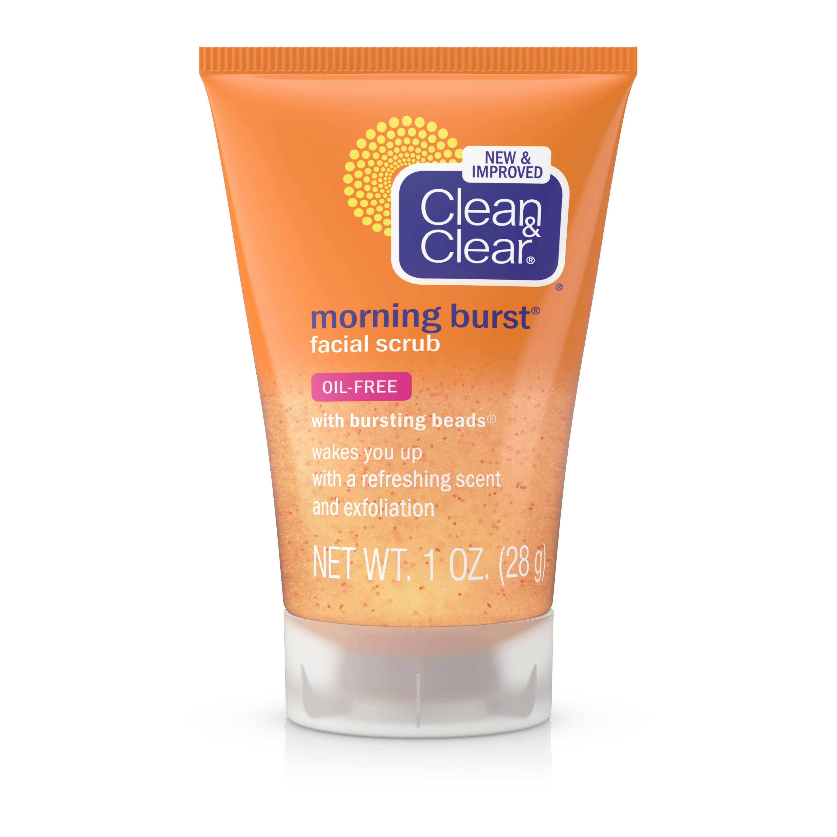 Johnson and Johnson Clean and Clear Morning Burst Facial Scrub - 28g
