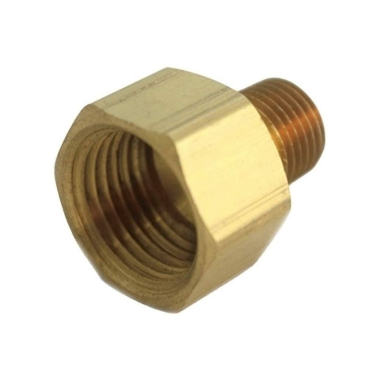 JMF Yellow Brass Lead Free Pipe Reducer - 1/4""