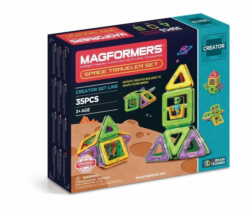 Magformers Construction Toy Set - Space Traveller