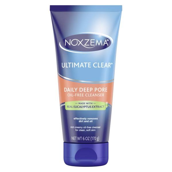 Noxzema Ultimate Clear Daily Deep Pore Cleanser - 6oz