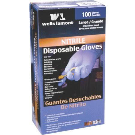 Wells Lamont 153 Nitrile Gloves - 100ct