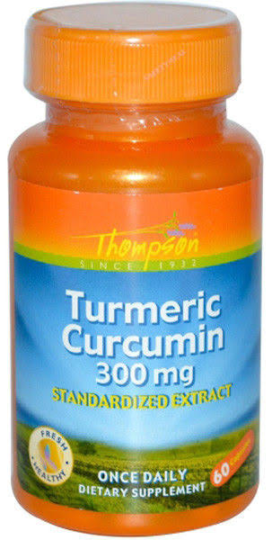Thompson Nutritional Products Turmeric Extract Supplement - 300 mg, 60 Count
