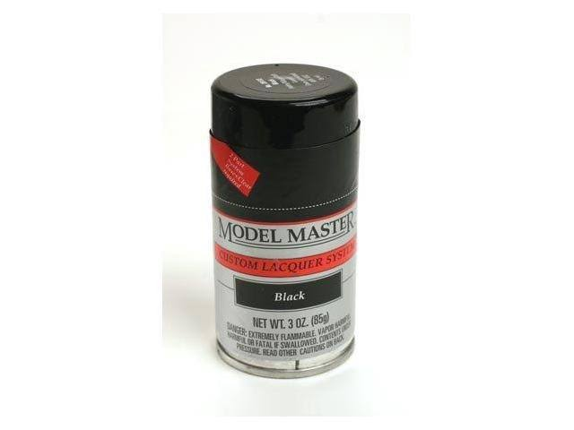 Testors Model Master Spray Black 3 oz 28133