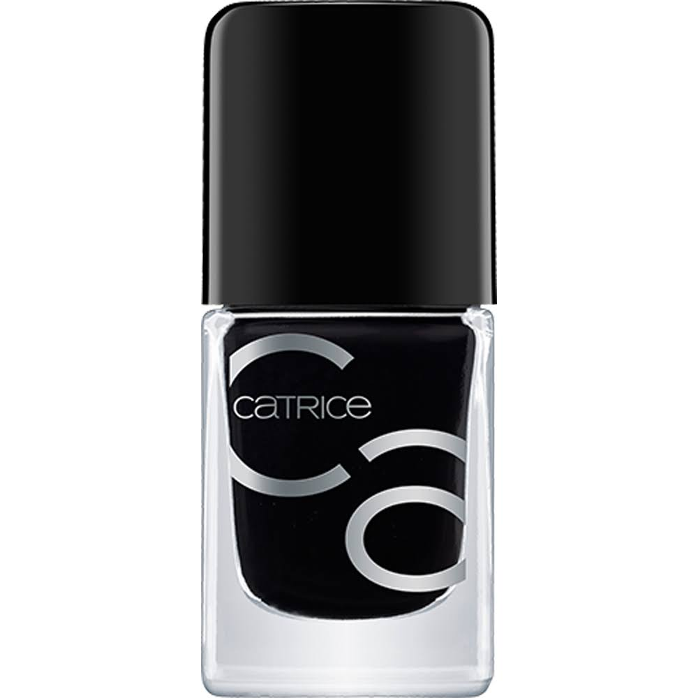 Catrice Iconails Gel Lacquer Nail Polish - 20 Black To The Routes, 10.5ml