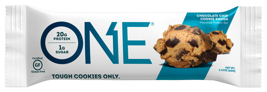 One Protein Bar, Flavored, Chocolate Chip Cookie Dough - 2.12 oz