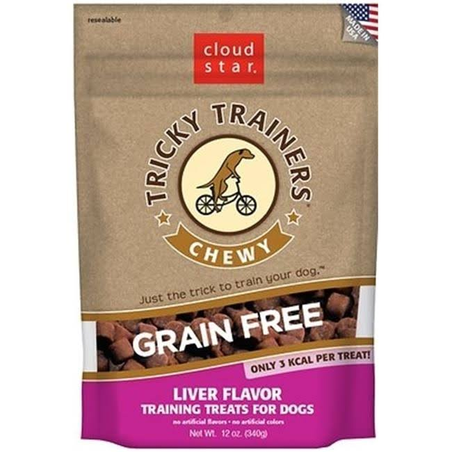 Cloud Star Tricky Trainers Chewy Grain Free Liver - 12 oz.