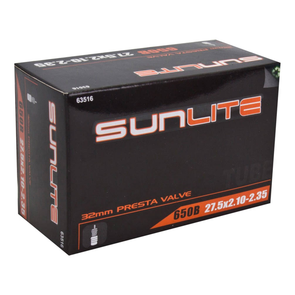 Sunlite Bicycle Inner Tube - 32mm Presta Valve
