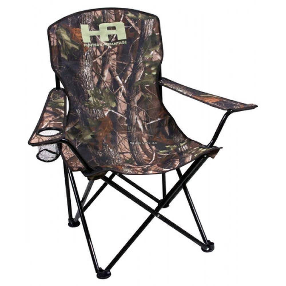 Calcutta Hunters Folding Chair with Carry Bag, Camo, 19mm