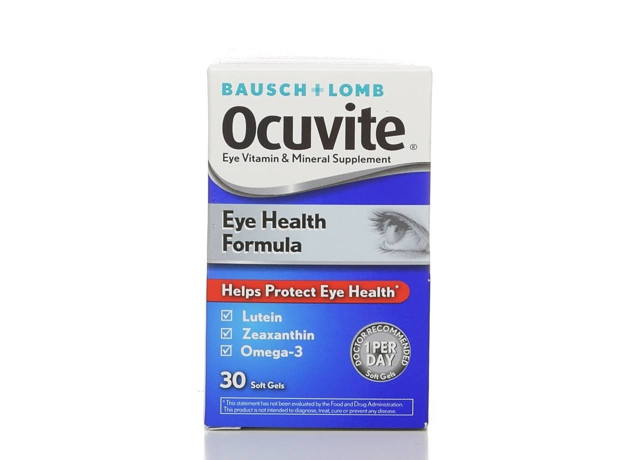 Bausch Plus Lomb Ocuvite Eye Vitamin and Mineral Supplement - 30ct