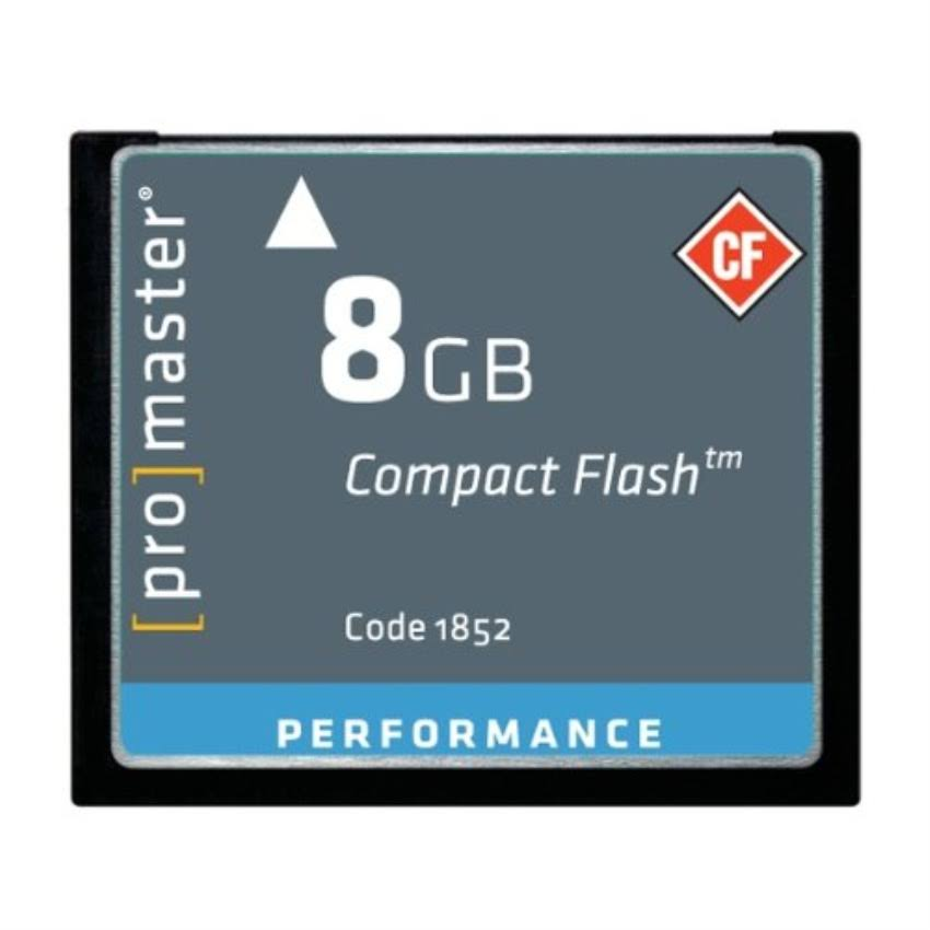 Promaster Performance Compact Flash Card - 8gb
