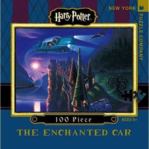 Harry Potter The Enchanted Car Jigsaw Puzzle - 100 Piece