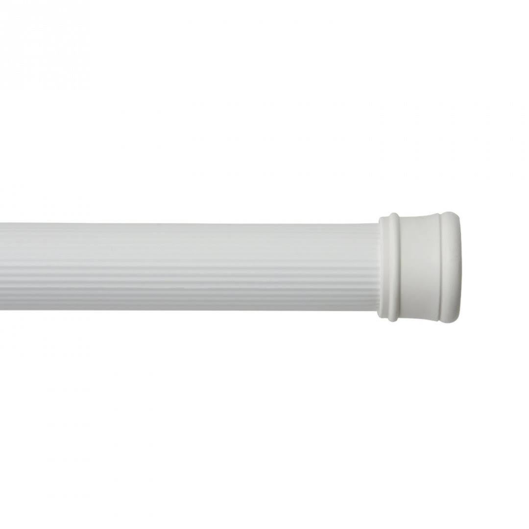 Kenney Tension Shower Curtain Rod - White, 36 to 63in