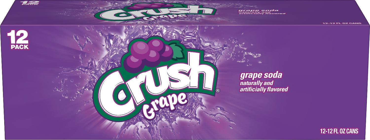 Crush Grape Soda 12-Pack