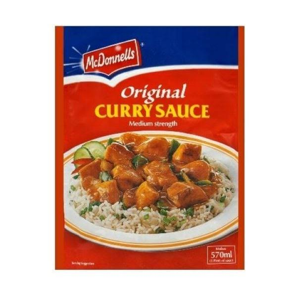 McDonnells Original Curry Sauce - 82g