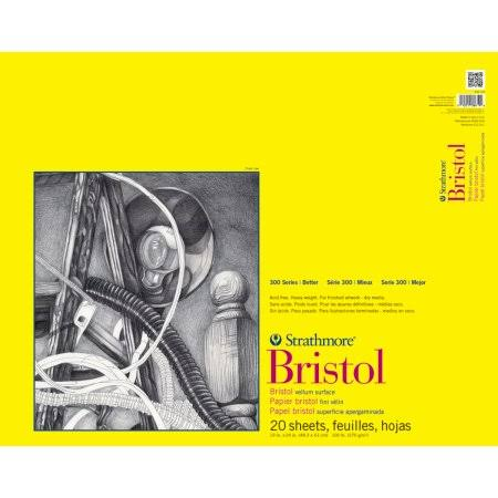 Strathmore Bristol Paper - 20 Sheets