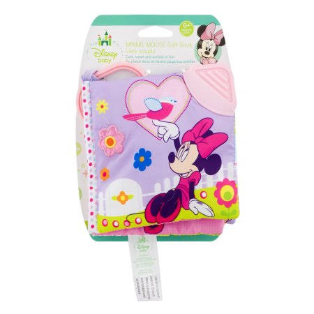 Disney Baby Minnie Mouse On The Go Soft Teether Book - 5""