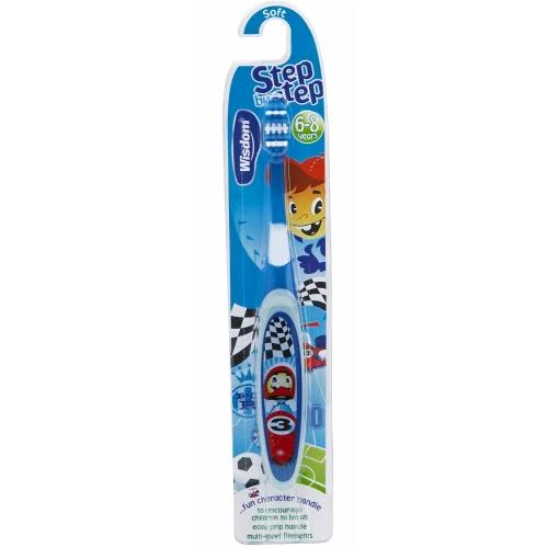 Wisdom Kids Step By Step 6+ Toothbrush